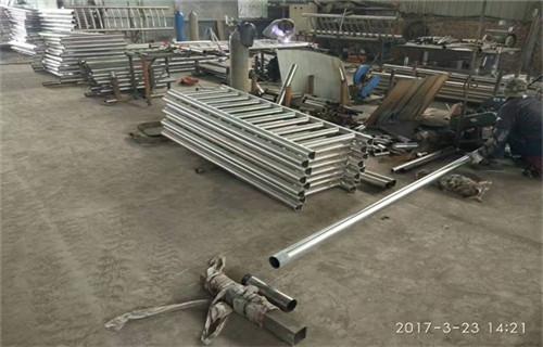 温州增强型q235焊接护栏立柱用多大钢管