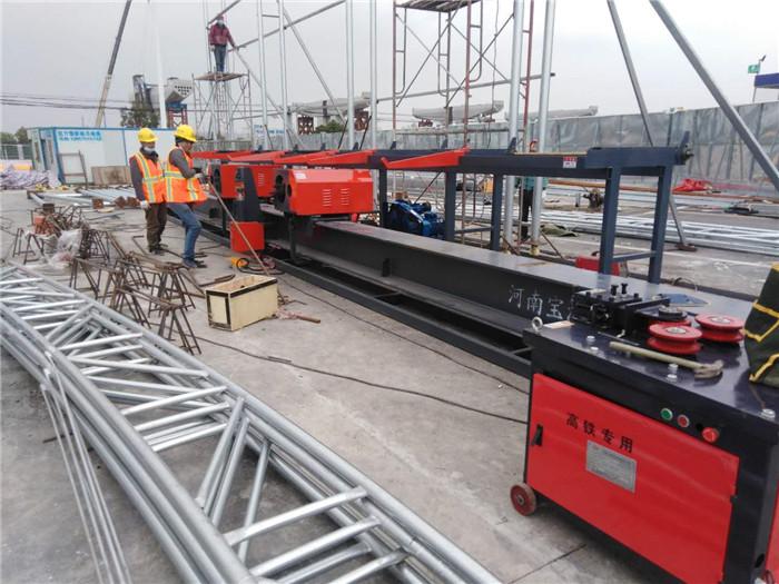 安徽蚌埠立式鋼筋彎曲機12-32螺紋鋼