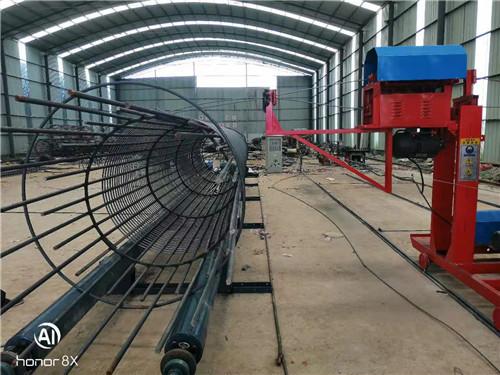 湖南省数控钢筋笼绕笼机多少价格多功能