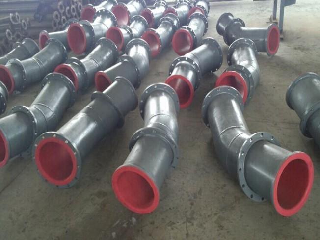 湖南衬胶管道厂家/碳钢衬胶管价格江西衬胶管