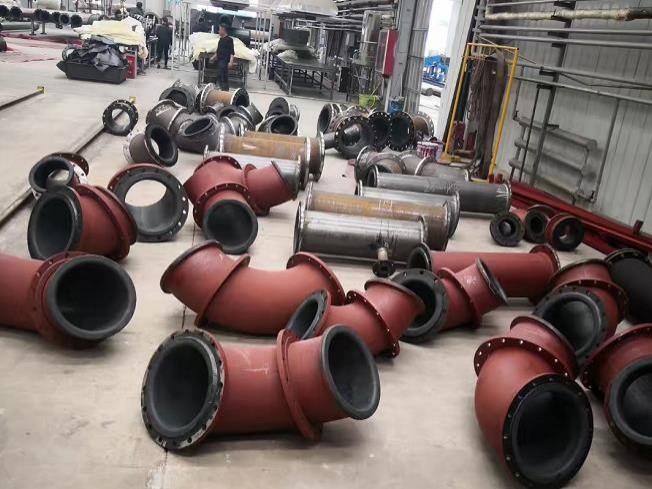 湖南衬胶管道厂家/碳钢衬胶管价格陕西衬胶管