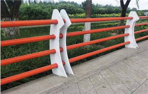 咸宁桥梁景观不锈钢复合管栏杆定尺切割