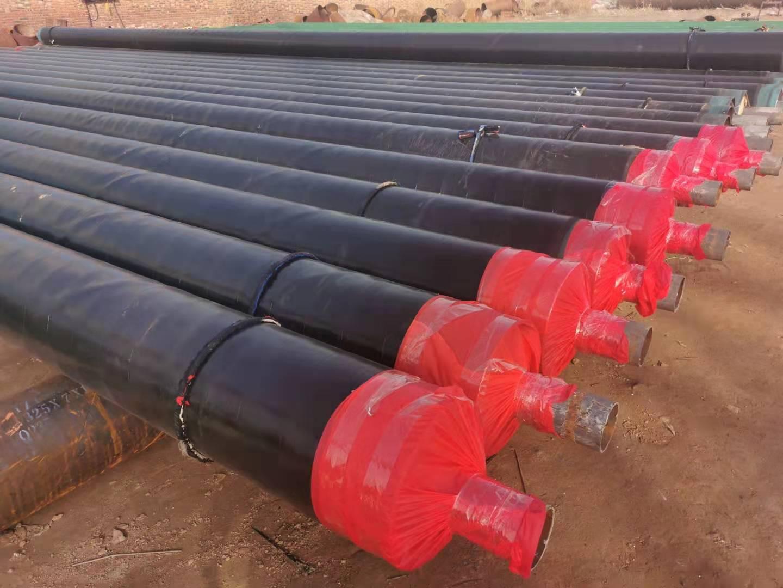 黄冈钢套钢蒸汽地埋保温固定节厂家兴松钢管:张阔臣