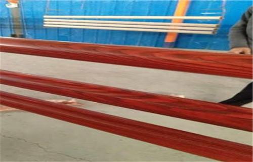 吕梁木纹转印护栏全国发货