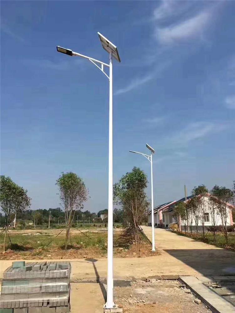 六安太阳能路灯厂家安装
