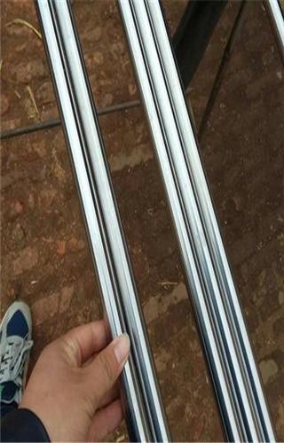 漳州Q345D镀铬钢管加工零件