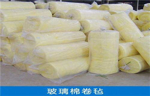 蚌埠市車間廠房玻璃棉卷氈18k/75mm報價