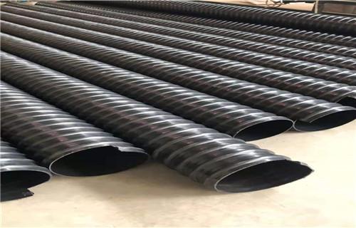 泰州HDPE钢带增强管)国标品质